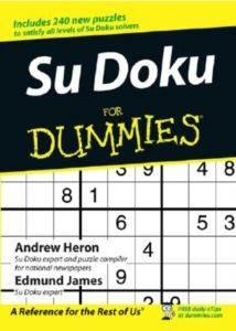 Sudoku For Dummies ...