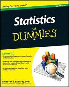 Statistics For Dummies, 2nd ed ...