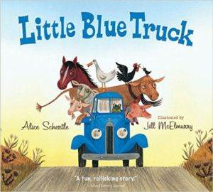 Little Blue Truck<br/>(Board Book)