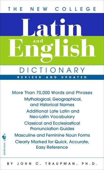 New College Latin & English Dictionary