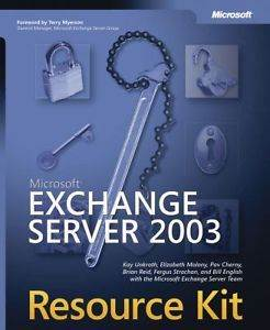Mic. Exchange Server 2003 Resource Kit