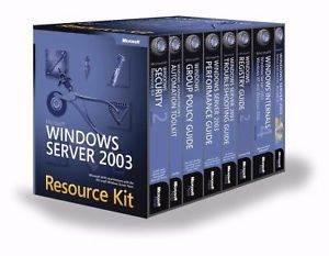 Microsoft Windows Server 2003 Resource
