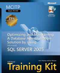 Ms Mcitp Exam 70-444 Sql Server Training Kit