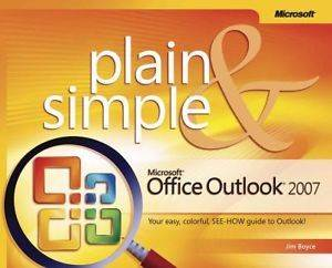Mic. Office Outlook 2007 Plain & Simple