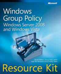 Ms Windows Group Policy Windows Server 2008 And Windows Vista Resource Kit