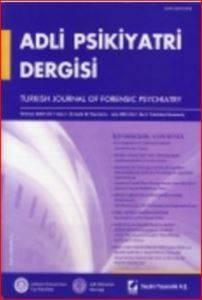 Adli Psikiyatri Dergisi – Cilt:1 Sayı:3 Temmuz 2004