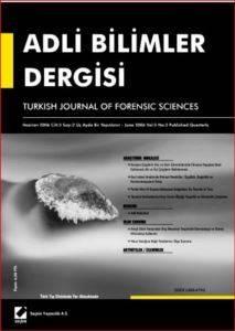 Adli Bilimler Dergisi - Cilt:5 Sayı:2 Haziran 2006