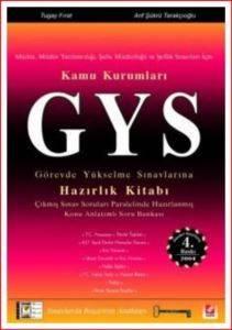 GYSKamu KurumlarıGörevde Yükselme Sınavlarına Hazırlık Kitabı