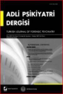 Adli Psikiyatri Dergisi – Cilt:4 Sayı:4 Ekim 2007