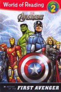 The Avengers: The Return of the First Avenger (Level 2 reader)