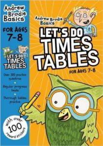 Let's do Times <br/>Tables 7-8