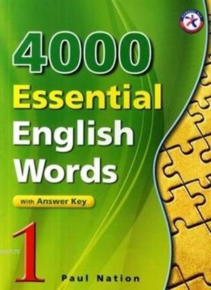 4000 Essential English Words 1 With Answer Key