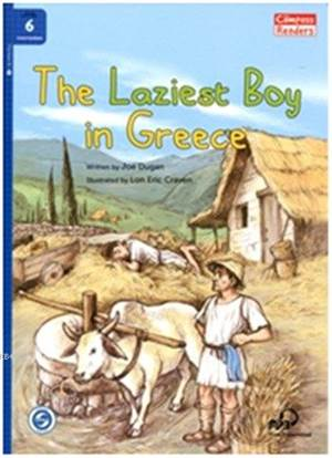 The Laziest Boy İn Greece + Downloadable Audio; Compass Readers 6 B1