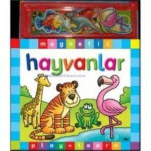 Magnetic Play + Learn Hayvanlar