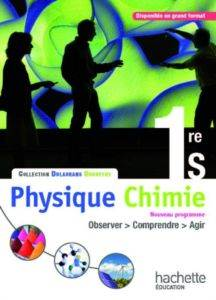 Physique Chimie 1ere S