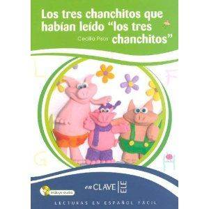 Los Tres Chanchitos… +Audio Descargable (LEEF Nivel-1) 7-10 Yaş İspanyolca Okuma Kitabı