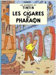 Tintin: Les cigare ...