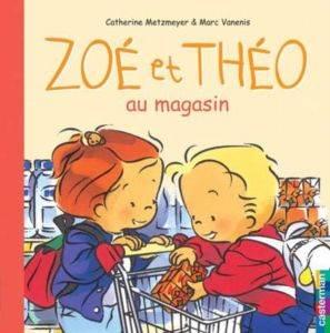 Zoe et Theo au Magasin