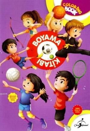 Boyama Kitabı Spor - Aktiviteli Boyama Serisi