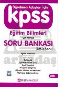 KPSS Eğitim Bilimleri Çek Kopar Soru Bankası 2011