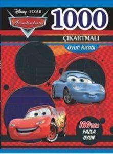 Arabalar 2 - 1000 Çıkartmalı Oyun Kitabı