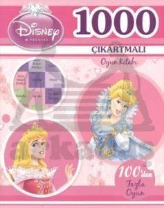 Prenses 1000 Çıkartmalı Oyun Kitabı
