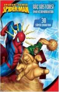 Spider Man Güç Gösterisi Oyun ve Boyama Kitabı