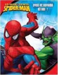 Spider Man Oyun ve Boyama Kitabı - 1