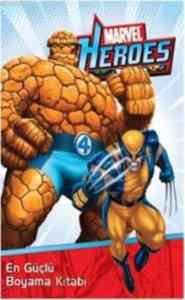 Marvel Heroes En Güçlü Boyama Kitabı