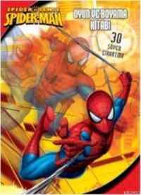 Spider Man Oyun ve Boyama Kitabı
