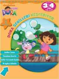 Dora Şekilleri Keşfediyor 3-4 Yaş