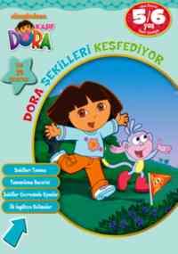 Dora Şekilleri Keşfediyor 5-6 Yaş