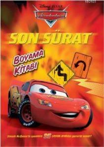 Arabalar Son Sürat Boyama Kitabı