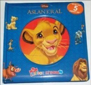 Aslan Kral İlk Yapboz Kitabım