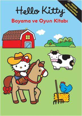 Hello Kitty Boyama Ve Oyun Kitabı