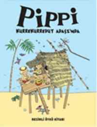Pippi Kurrekurredut Adasın'da Resimli Öykü Kitabı