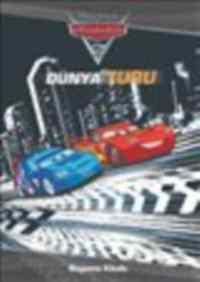 Arabalar 2 Dünya Turu Boyama Kitabı