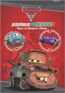 Arabalar 2 Sınırsız Macera Oyun ve Boyama Kitabı