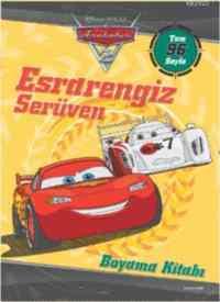 Arabalar 2 Esrarengiz Serüven Boyama Kitabı
