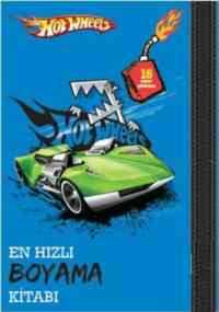 Hot Wheels: En Hızlı Boyama Kitabı