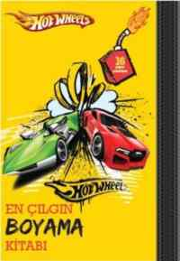 Hot Wheels: En Çılgın Boyama Kitabı