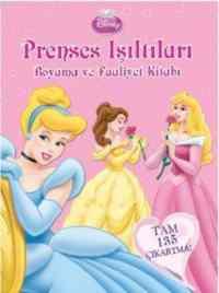 Prenses Işıltıları Boyama ve Faaliyet Kitabı