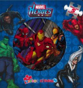 Marvel Heroes Yapboz Kitabım