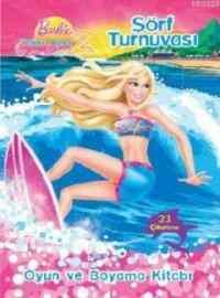 Barbie Denizkızı Hikayesi 2 - Sörf Turnuvası Boyama Kitabı