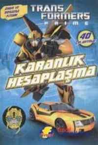 Transformers Prime Karanlık Hesaplaşma-Oyun Ve Boyama Kitabı