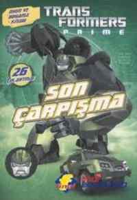 Transformers Prime Son Çarpışma-Oyun Ve Boyama Kitabı