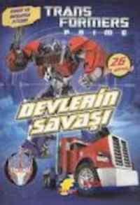 Transformers Prime Devlerin Savaşı-Oyun Ve Boyama Kitabı