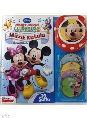 Mickey Mouse Club House: Müzik Kutulu Öykü Kitabı; 3+ Yaş