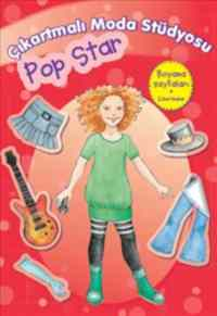 Çıkartmalı Moda Stüdyosu Pop Star