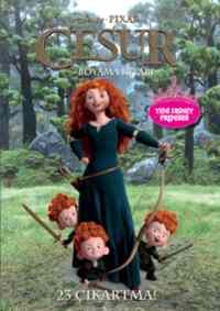 Disney Pixar Cesur Boyama Kitabı